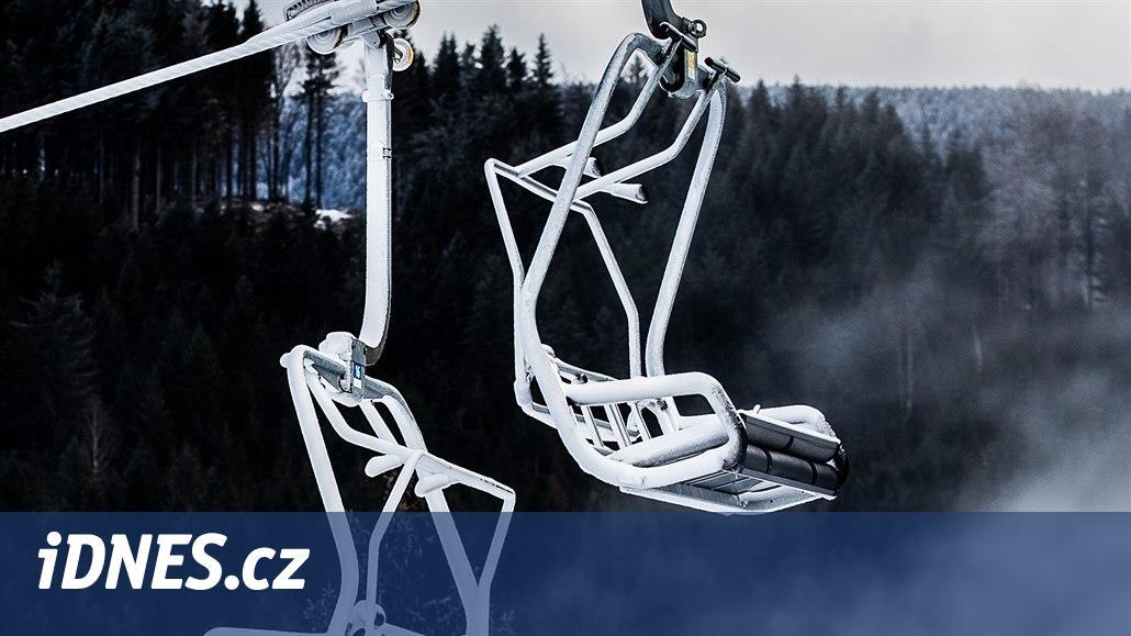 V Krkonoších se začíná lyžovat na svazích Černé hory a v Malé Úpě