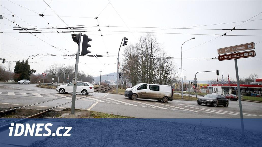 Tramvajovou trať u zoo v Brně zanoří pod zem, odlehčí se kritické křižovatce
