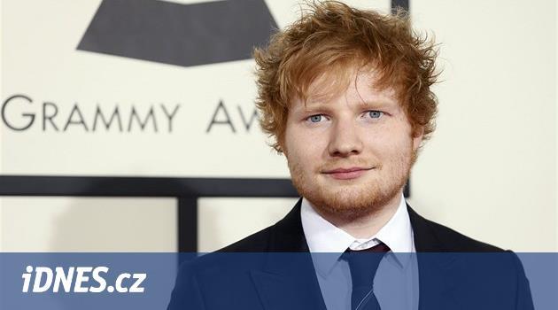 Britska Pisnickarska Hvezda Ed Sheeran Zahraje Poprve V Praze Idnes Cz