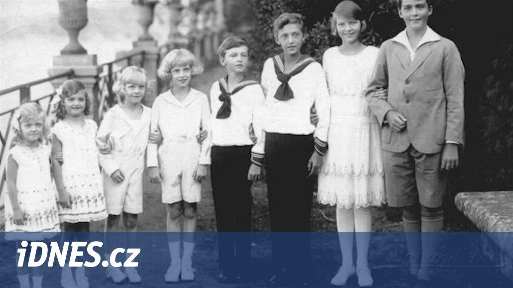 Poslední Habsburk narozený do císařského domu přišel na svět před 100 lety