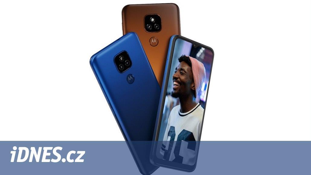 Levná Motorola E7 Plus láká na velký displej a fajnový foťák