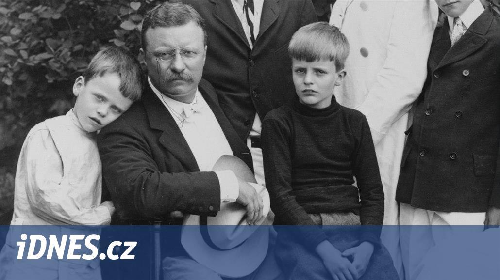"""V 1. světové válce zahynul syn prezidenta Roosevelta, """"rošťák"""