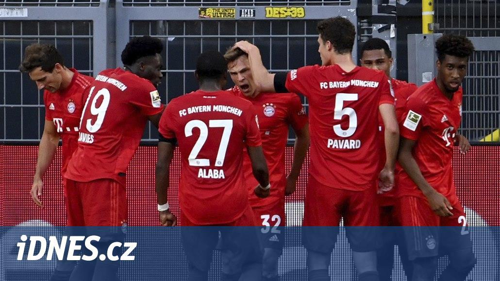 Fotbalisté Bayernu budou mít nižší plat až do konce sezony