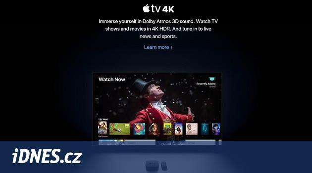 Nový macOS je celý v černém, Apple TV umí nejlepší prostorový zvuk
