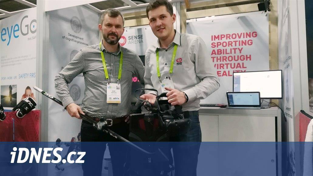 To nejlepší z Česka v Las Vegas: Virtuální trénink nejen pro hokejisty