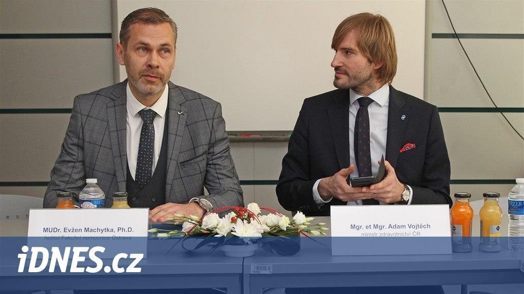 Kvůli napjaté situaci ve fakultní nemocnici přijede do Ostravy ministr