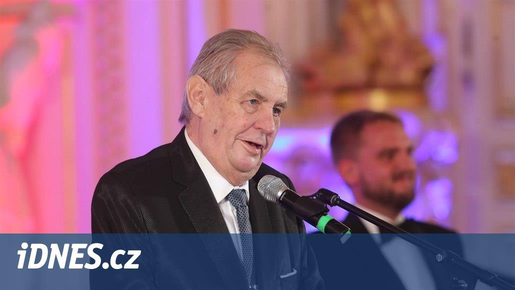Zemanovi věří polovina Čechů, uvádí průzkum důvěry politiků. Propadl Ťok