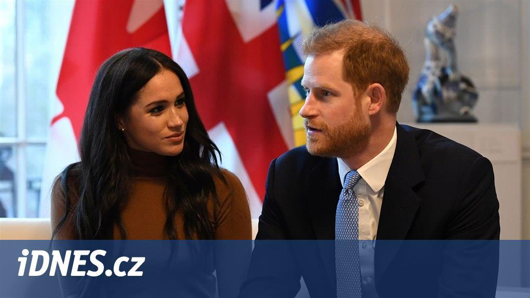 Princ Harry a vévodkyně Meghan se královských povinností vzdají od dubna
